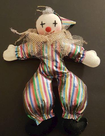 Colorful Plush Clown