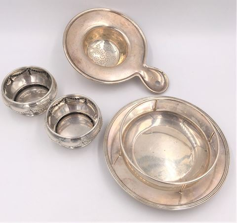 Collection of Sterling Silver Table Items