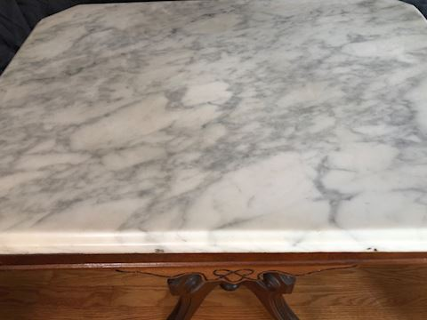 East  Lake style table stone top
