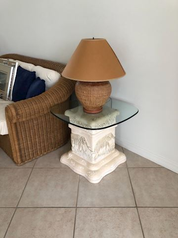 2 Matching Elephant End Tables