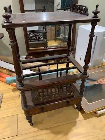 Antique Wooden Shelf