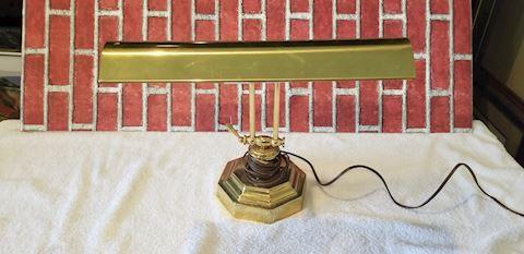 Vintage student desk lamp