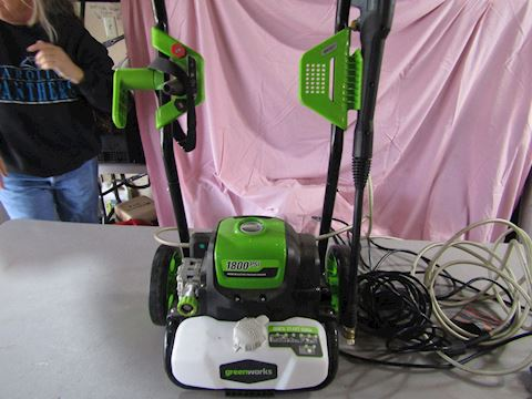 GREENWORKS ELECTRIC POWER WASHER NEW OUT OF BOX