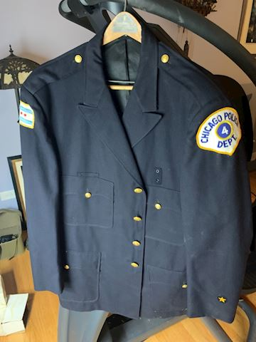 Obsolete city of Chicago police men's jacket