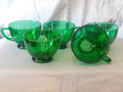 five punch cups