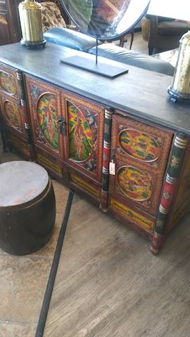Antique Asian Cabinet - #3985