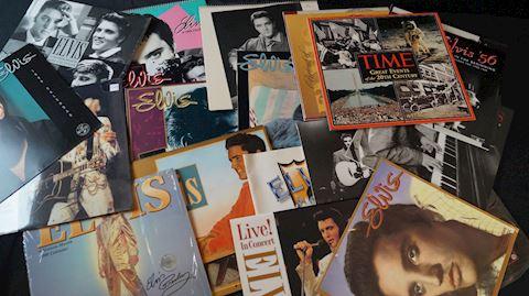 Lot #33  Elvis Calendars