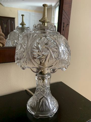 Cut Crystal Table Lamp