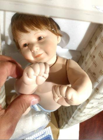 Doll Porcelain Ashton Drake
