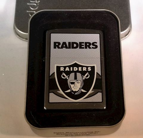 Zippo Lighter - Oakland Raiders Collectable