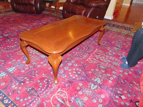 Oak Contemporary Coffee Table