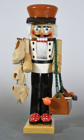 "1980s Steinbach 15"" Wooden Shoe Maker Nutcracker E"