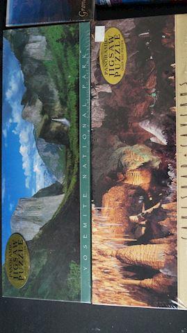 Lot #74 Landscape Puzzles