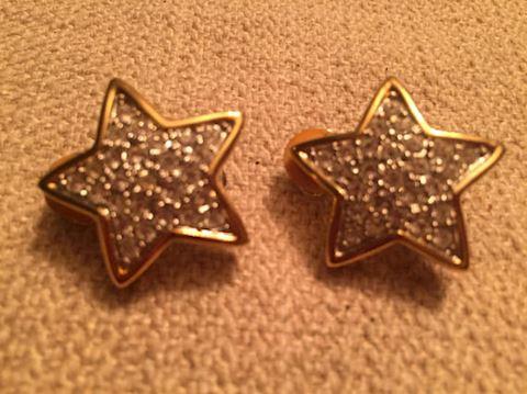 Star Clip-On Earrings