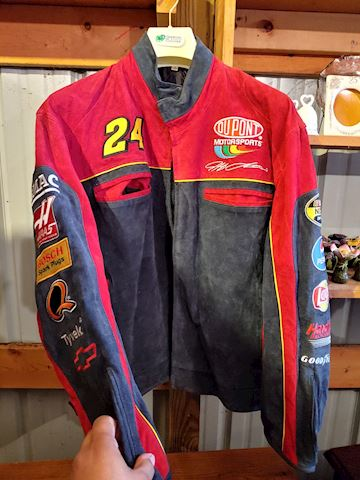 NASCAR Jeff Gordon Leather Jacket