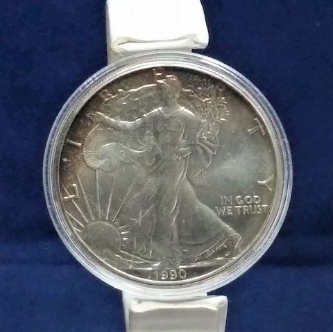 1990 Walking Silver Dollar