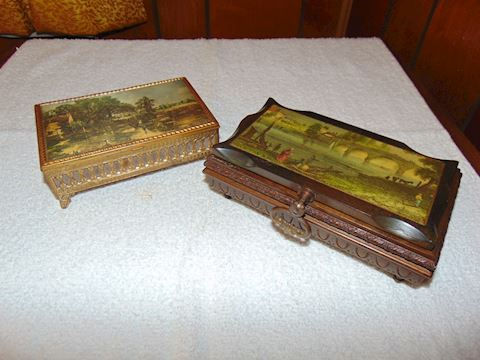 Two Italian Music Boxes