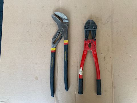Wire Cutter & Wrench Lot # 210