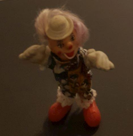 Vintage Clown Figurine