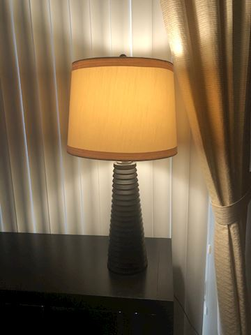 Matching Wood Lamps