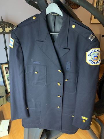 Obsolete city of Chicago police jacket