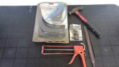6 piece misc tools Lot #155