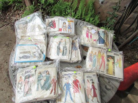 Vintage Lot of Sewing Patterns, 50+