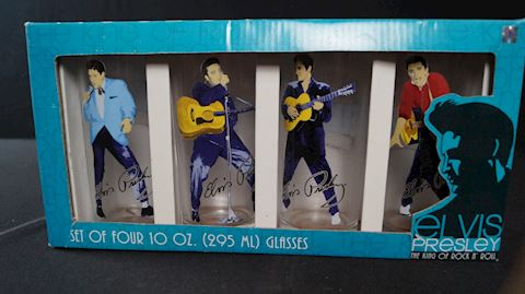 Lot #9 Elvis Memorabilia Merch & Holiday Pack