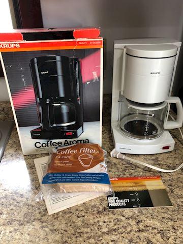 Krups 10 cup coffee maker