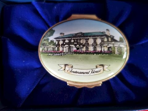 HALCYON DAYS TOURNAMENT OF ROSES TRINKET BOX