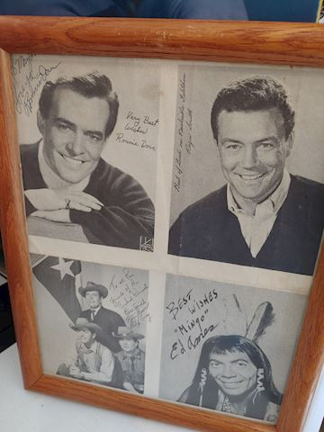1950 Signed Actor Western Prints