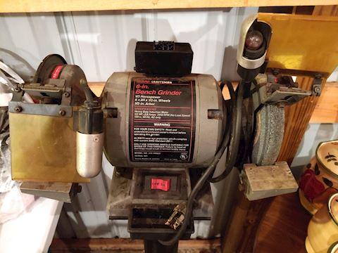 "Bench Grinder 6"" Craftsman"