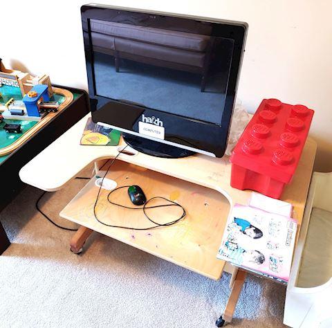 Hatch Kids Computer w/ Desk