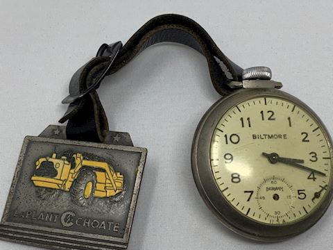 Pocket watch and FOB