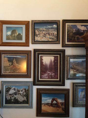Collection of Framed Photography