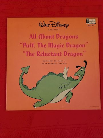 Walt Disney all about dragons dq-1301