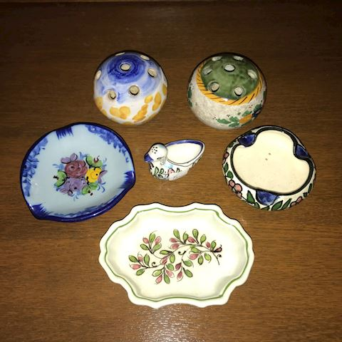 Lot of 5 Small Porcelain/Pottery Items