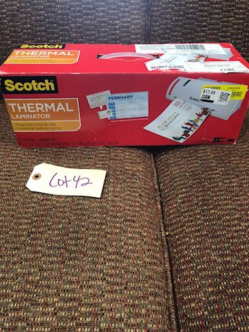 Scotch Thermal Laminator LOT 42