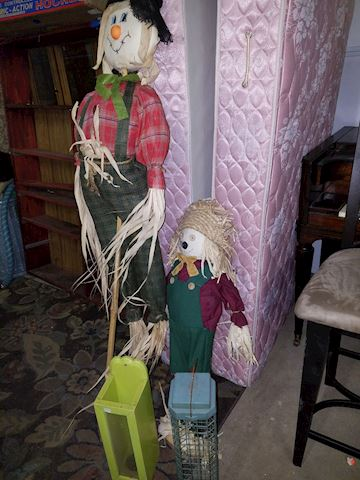 Garden or Yard items Scarecrows and Bird Feeders
