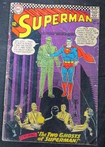 Vintage Superman Comic Book 1966 May No.186