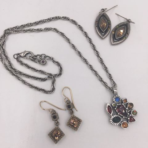Collection of Patricia Locke Jewelry Necklace +