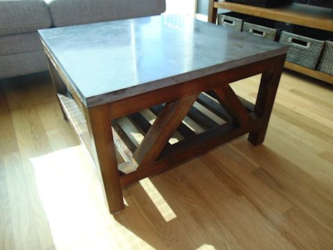 Mission Style Coffee Table