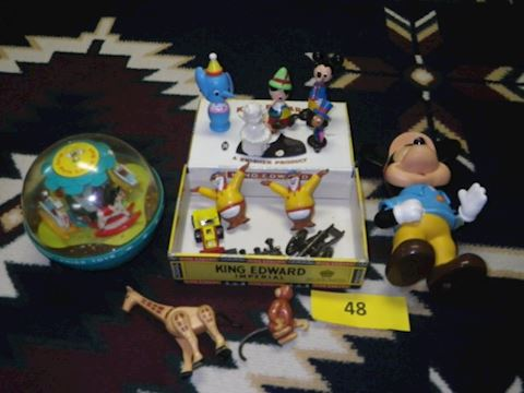 Lot #48 - Small Toys (Basement)