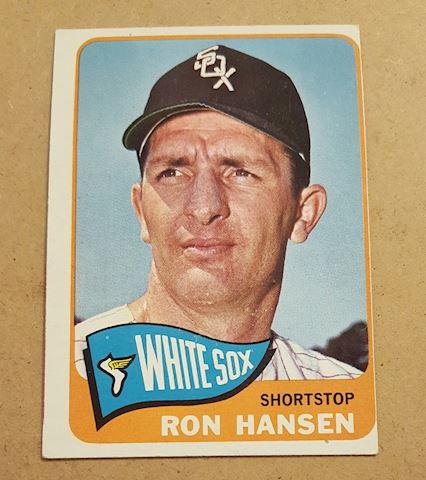 Vintage 1965 Ron Hansen Baseball Card #146
