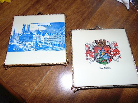 Vintage German Trivets