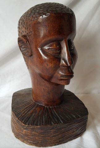 Charlie Parker Hand Carved Rare Bust