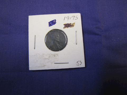 Coin - Rare 1917 S Penny
