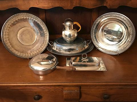Mixed Vintage Silver Plated Lot