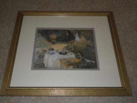 """Monet Print - """"Ellie Dejuener"""""""