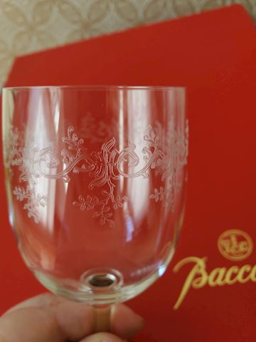 Baccarat 11 wine glasses